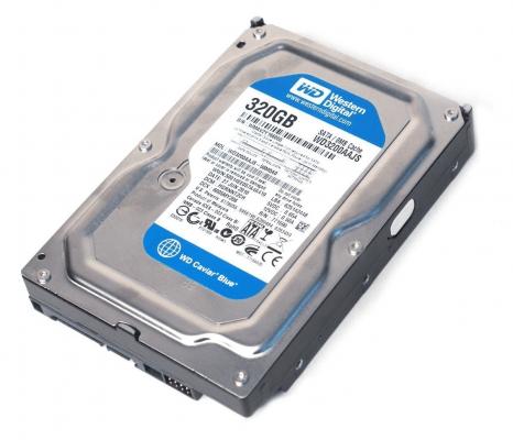 05 Best budget hard drive for gaming Western Digital (WD) Caviar Blue 320 GB Desktop Hard Drive
