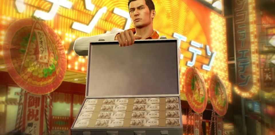 Yakuza 6: Essence of Art Exhibit KIRYU-MORE-CASH-960x472