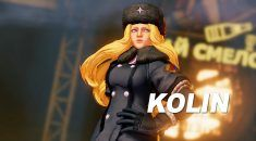 Street Fighter V reveals Kolin as the newest roster addition
