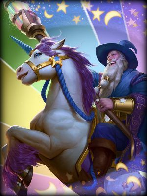 SMITE Guan Unicorn