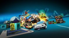 Face the Hungry Hungry Hippos with a Nerf Gun in Micro Machines World Series