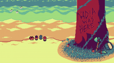 Nadia was Here wants you to plant a pixel art seed