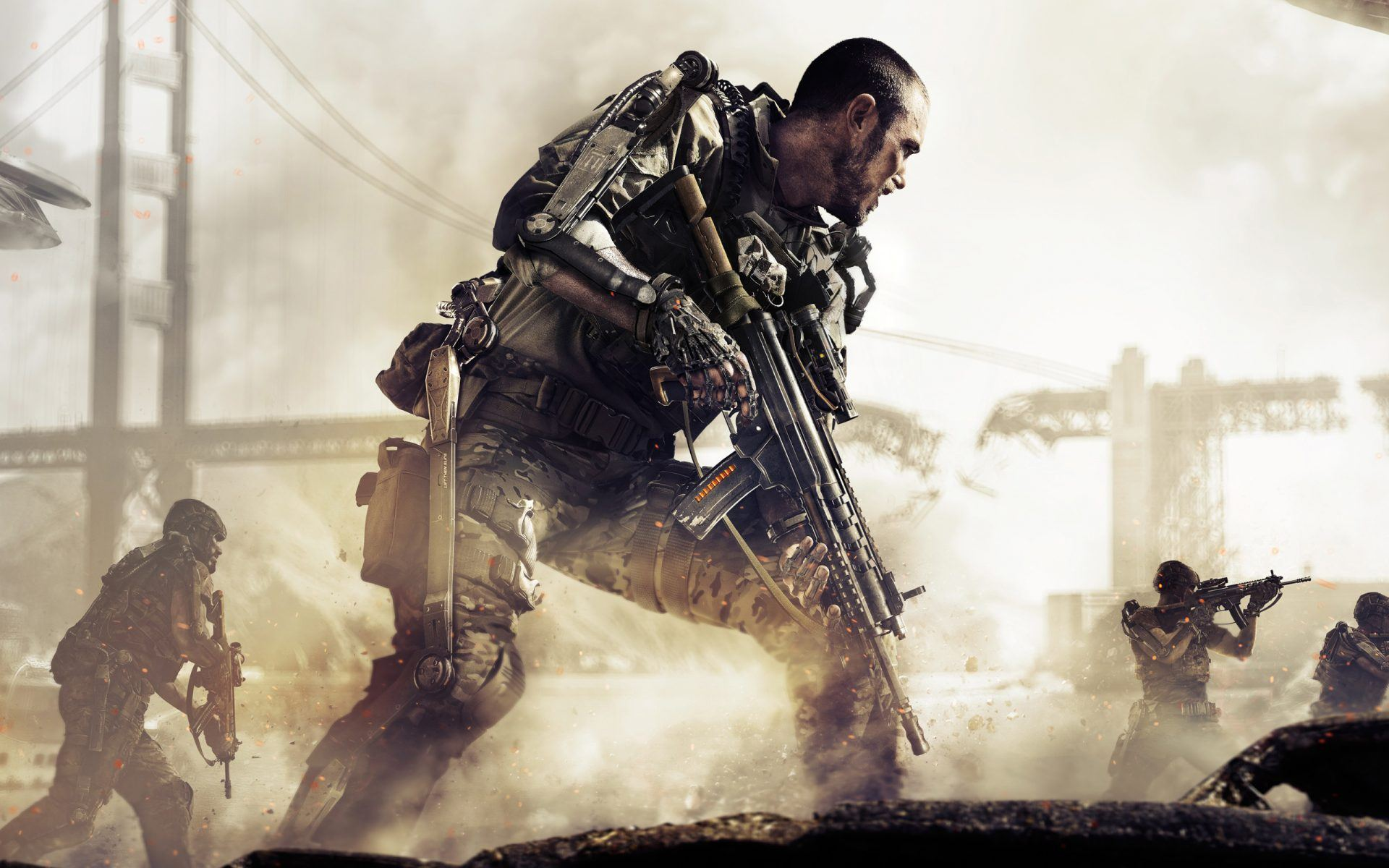Call of Duty: Advanced Warfare (All Call of Duty games in order)