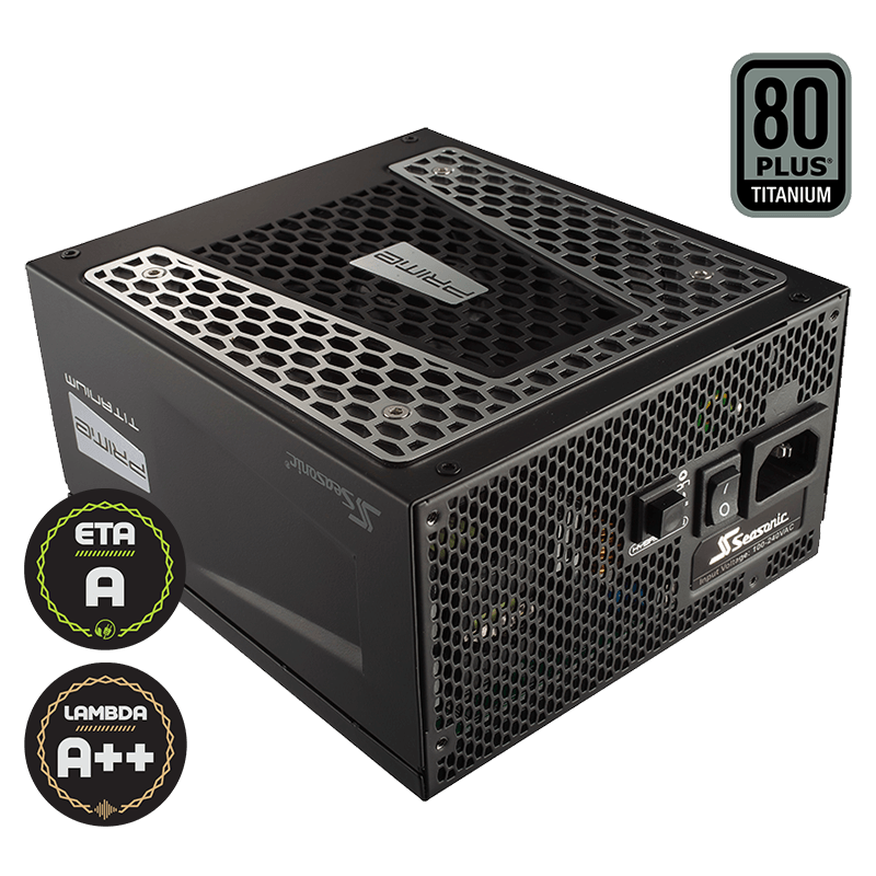 Seasonic 650W 80 PLUS Titanium ATX12V Power Supply with Active PFC F3 (SSR-650TD)
