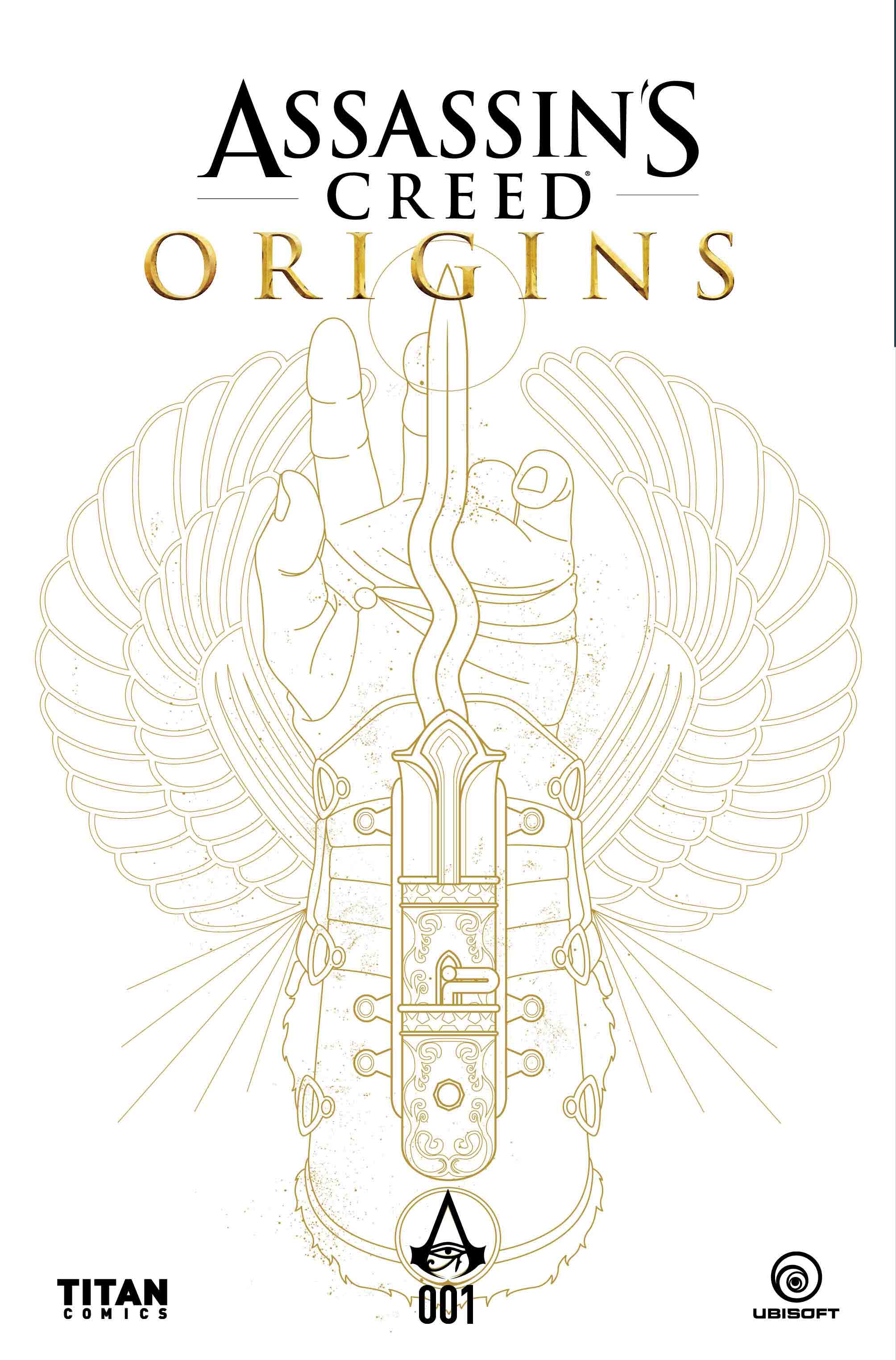 Ubisoft-Assassin's Creed Origins comicbook miniseries