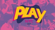 Having a blast with indie devs at Play NYC