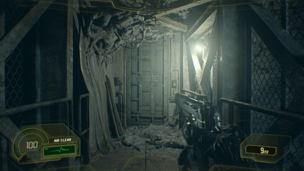 resident evil 7 not a hero screenshot