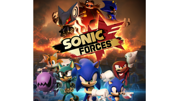 Sonic Forces Title