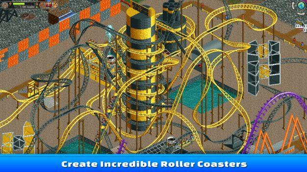 Rollercoaster tycoon scrnshot1