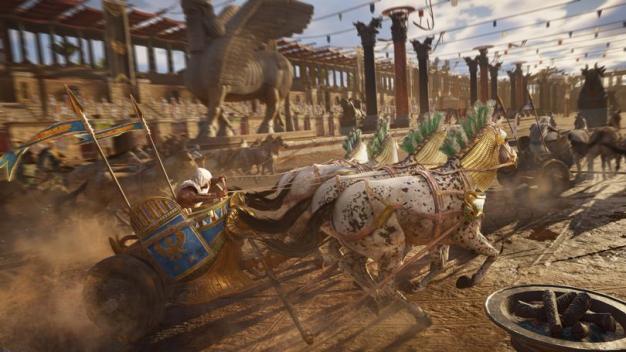 AC Origins Discovery Tour Horses