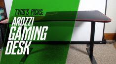 Arozzi Arena Adjustable Gaming Desk Review