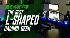 Best L Shaped Gaming Computer Desk [7 Reviewed]