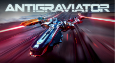 Antigraviator: Futuristic racer with no speed limits