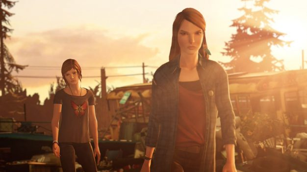 Rachel and Chloe in Life is Strange: Before the Storm