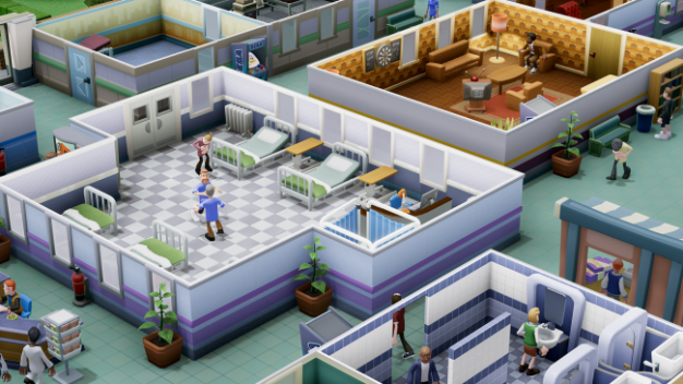 Inside Two Point Hospital Demo