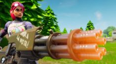 Fortnite 2.4 Update is live with new minigun!