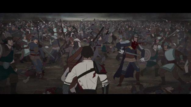 Ash of Gods battle