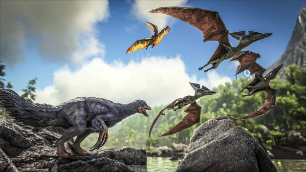 Friend or foe? That's up to you with ARK: Survival Evolved on the Switch