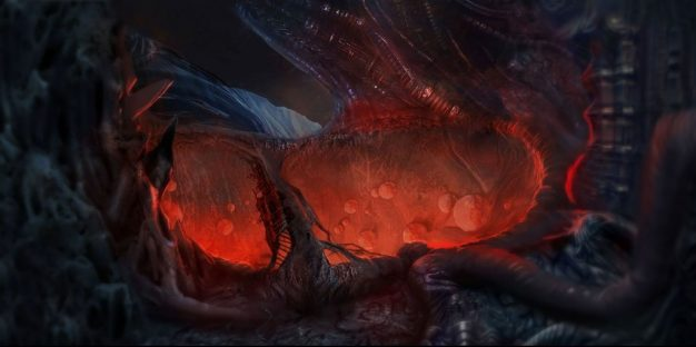 Action-RPG DOLMEN combines Lovecraftian Horror with Giger-esque landscapes