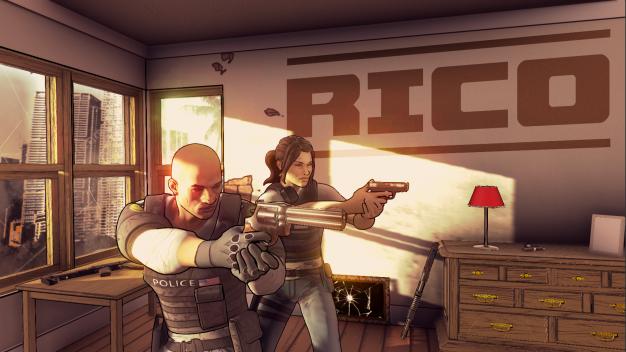 Rising Star's Shoot-em-up Rico