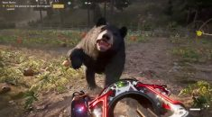 Far Cry 5 has a Space Gun that launches bears and it's epic