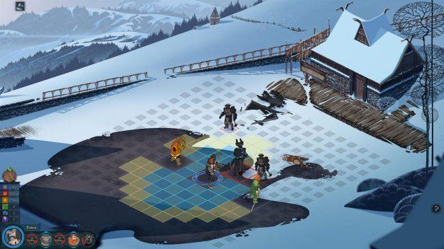 Banner Saga battle