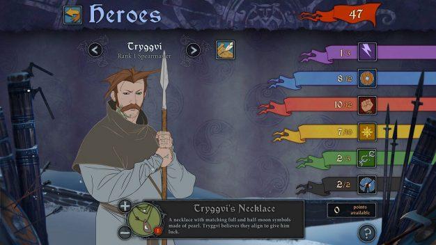 Banner Saga menu