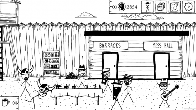 West of Loathing scenery