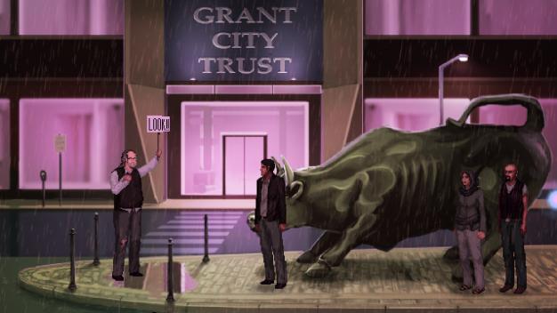 Unavowed-Wall Street Bull