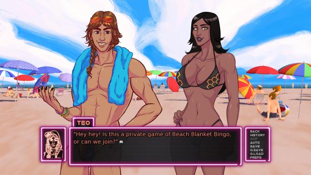 Arcade spirits character