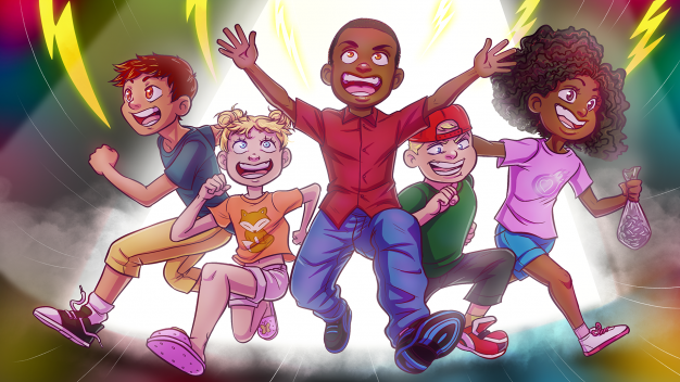 arcade spirits kids