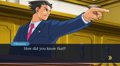 Court is in session for Phoenix Wright on console and PC