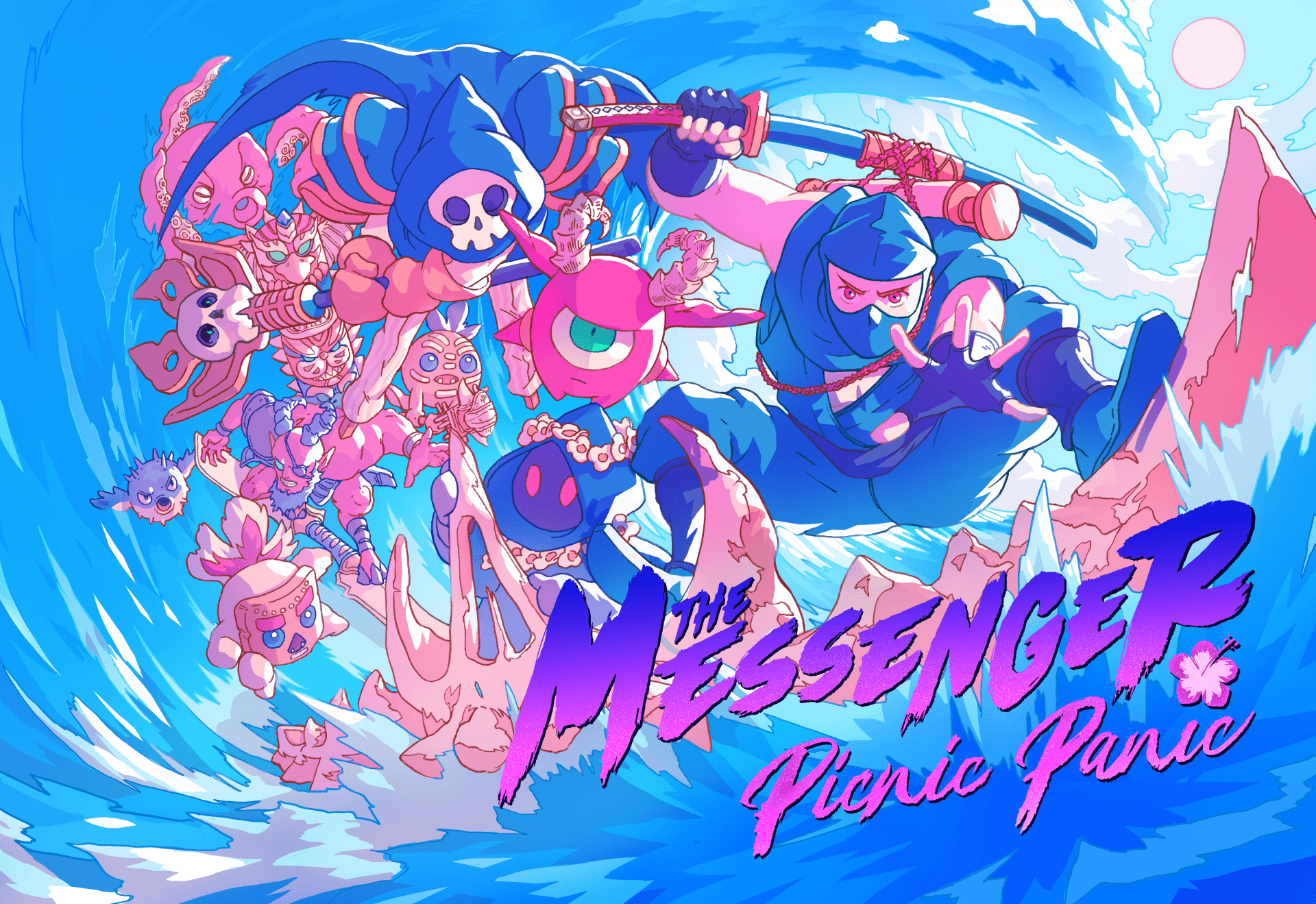 FREE DLC for The Messenger out now!