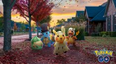 Pokemon Go Halloween event brings exclusive costume-donned classics