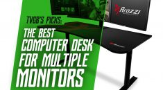 Best Computer Desk for Dual Monitors [4 Reviewed]