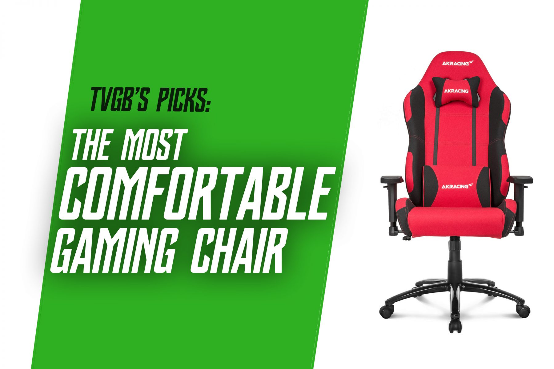 tvgb's pick for the most comfortable gaming chair