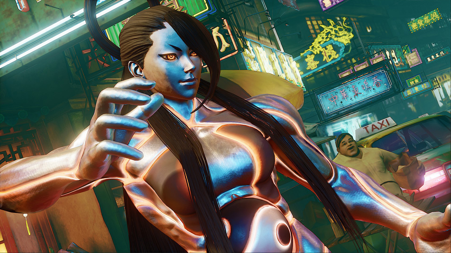 Street Fighter V: Champion Edition Seth Intro