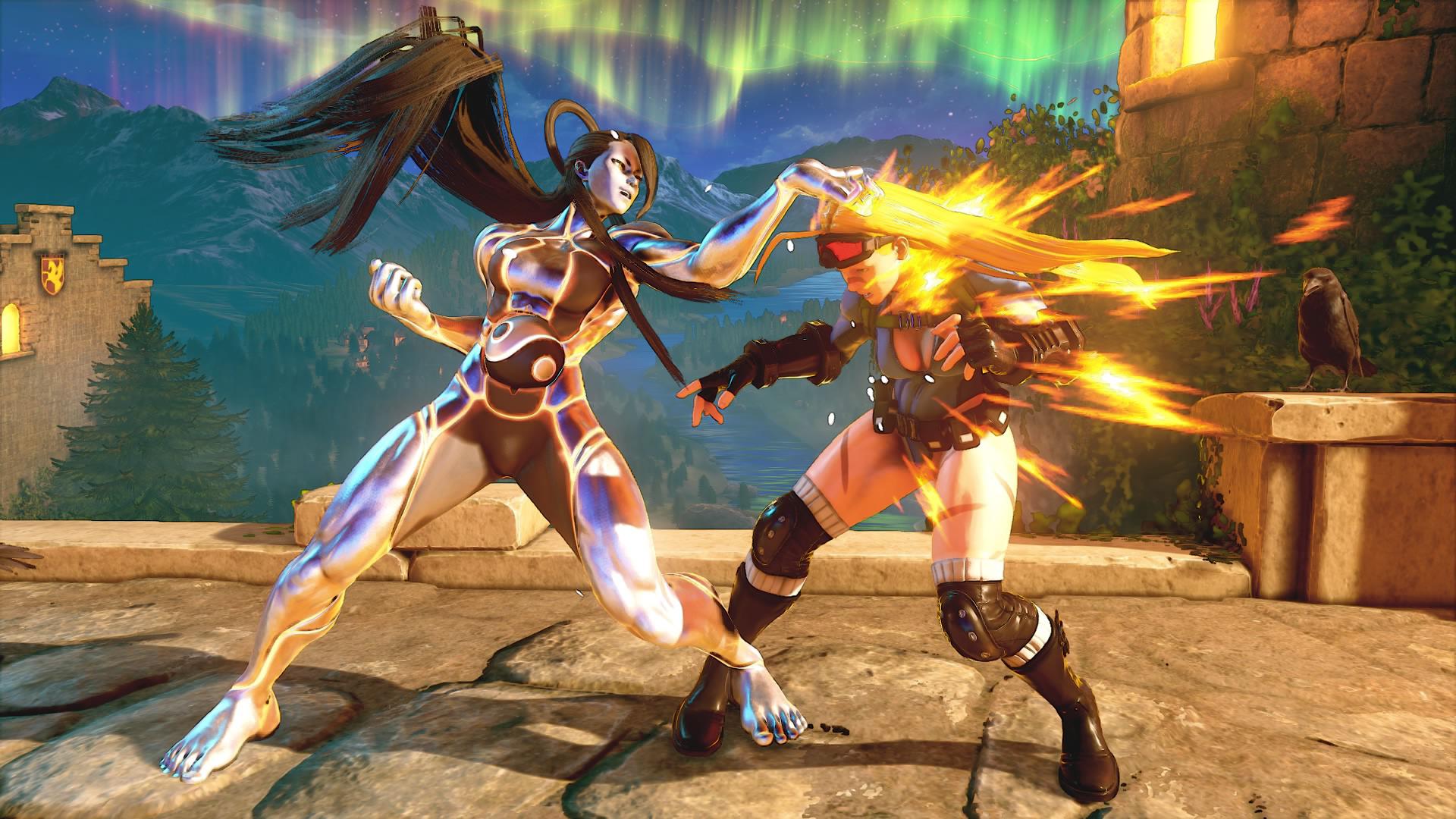 Street Fighter V: Champion Edition Seth vs Cammy