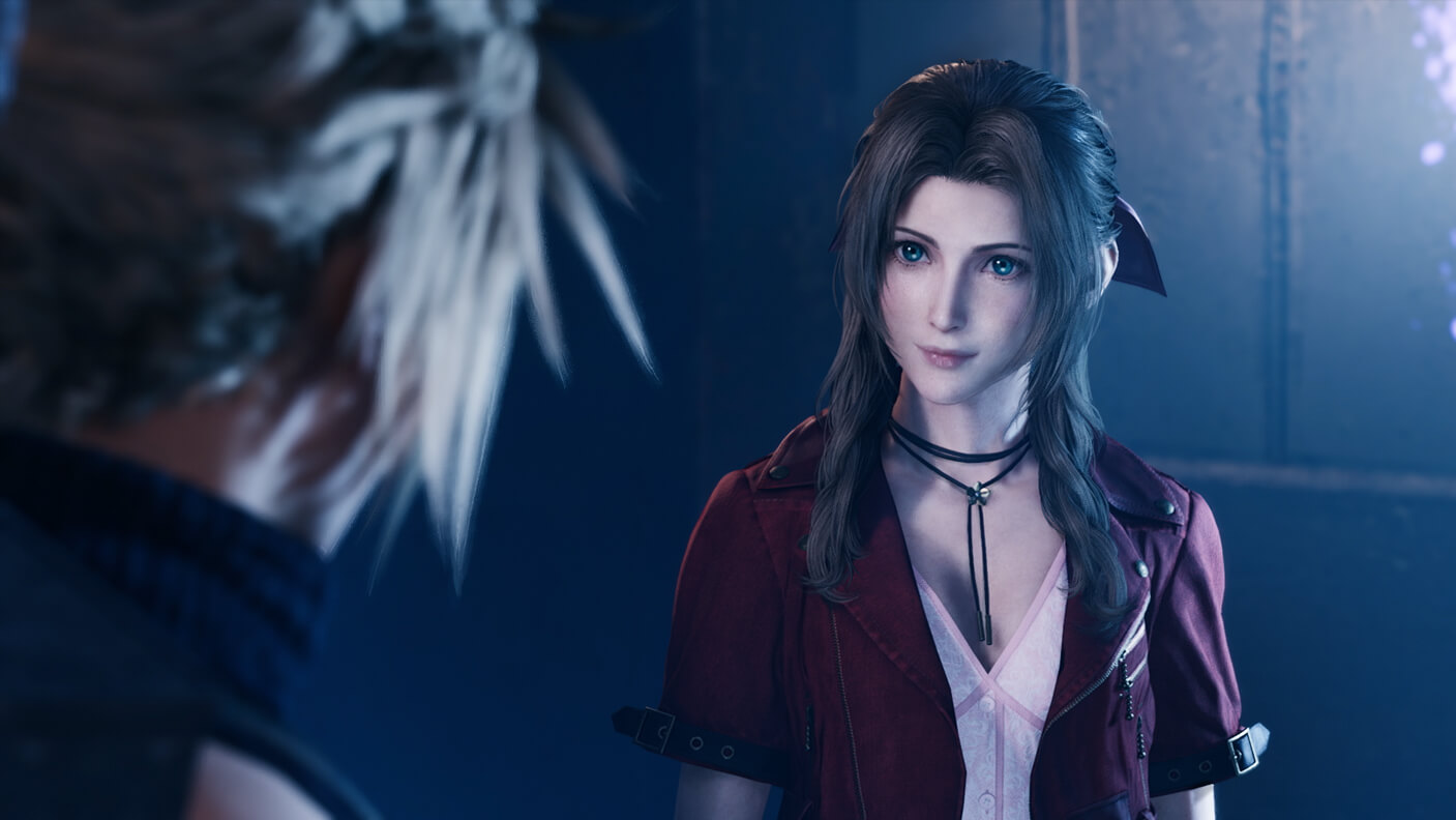 Final Fantasy VII Remake Aerith and Cloud
