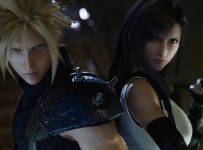 final fantasy VII remake cloud and tifa