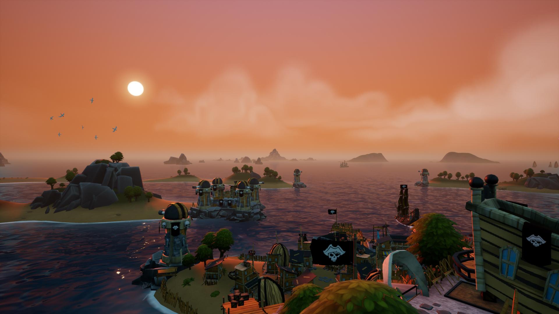 King Of Seas dusk
