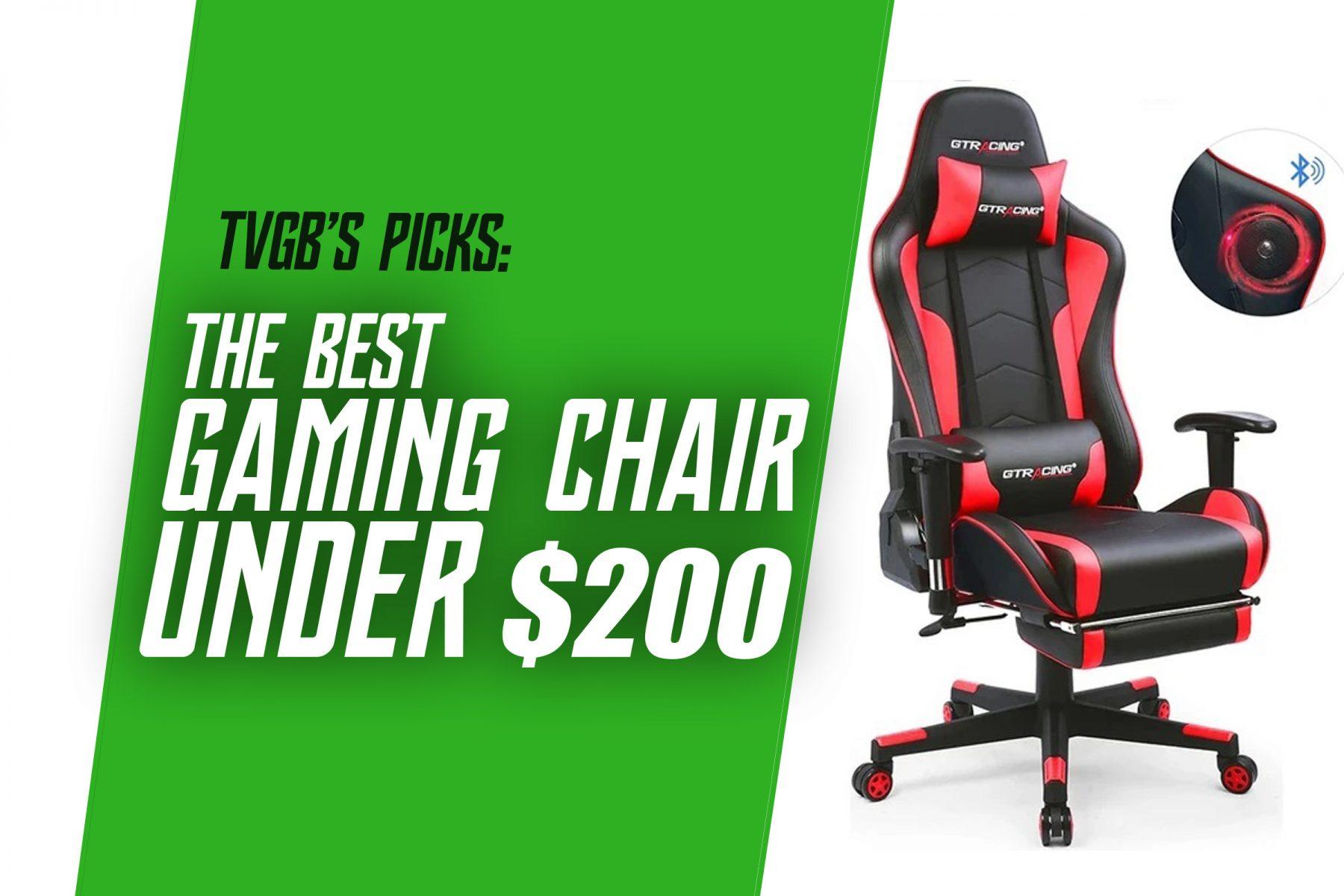 best gaming chair under 200 header image