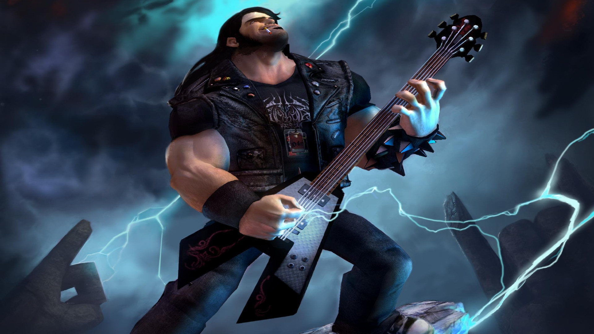 brutal legend video game music