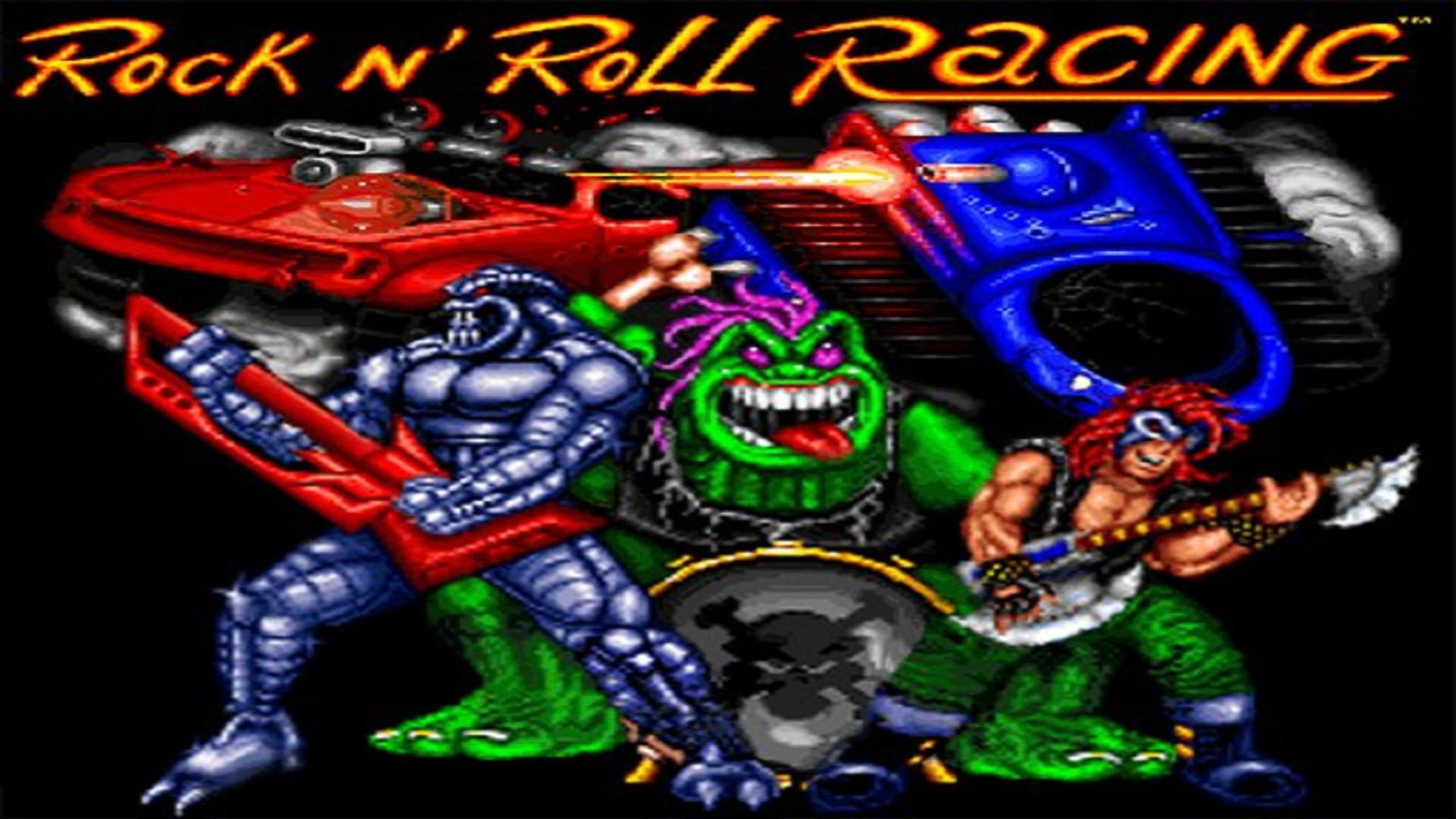 rock n' roll racing video game music
