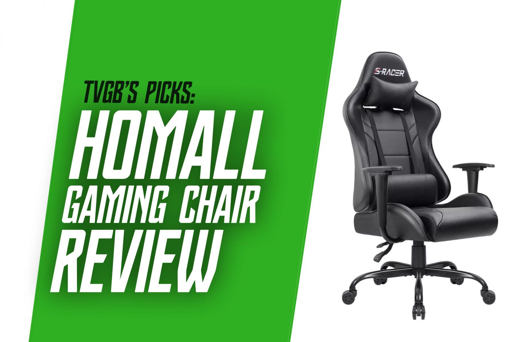 TVGB - homall gaming chair review