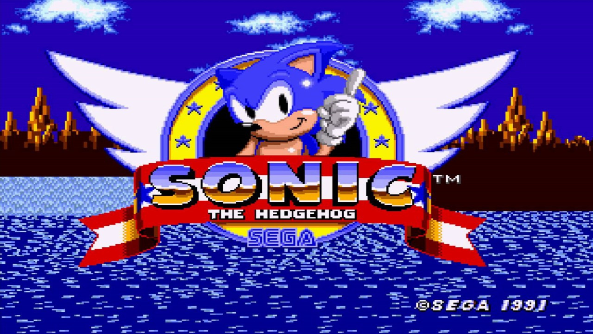 Sonic video game music