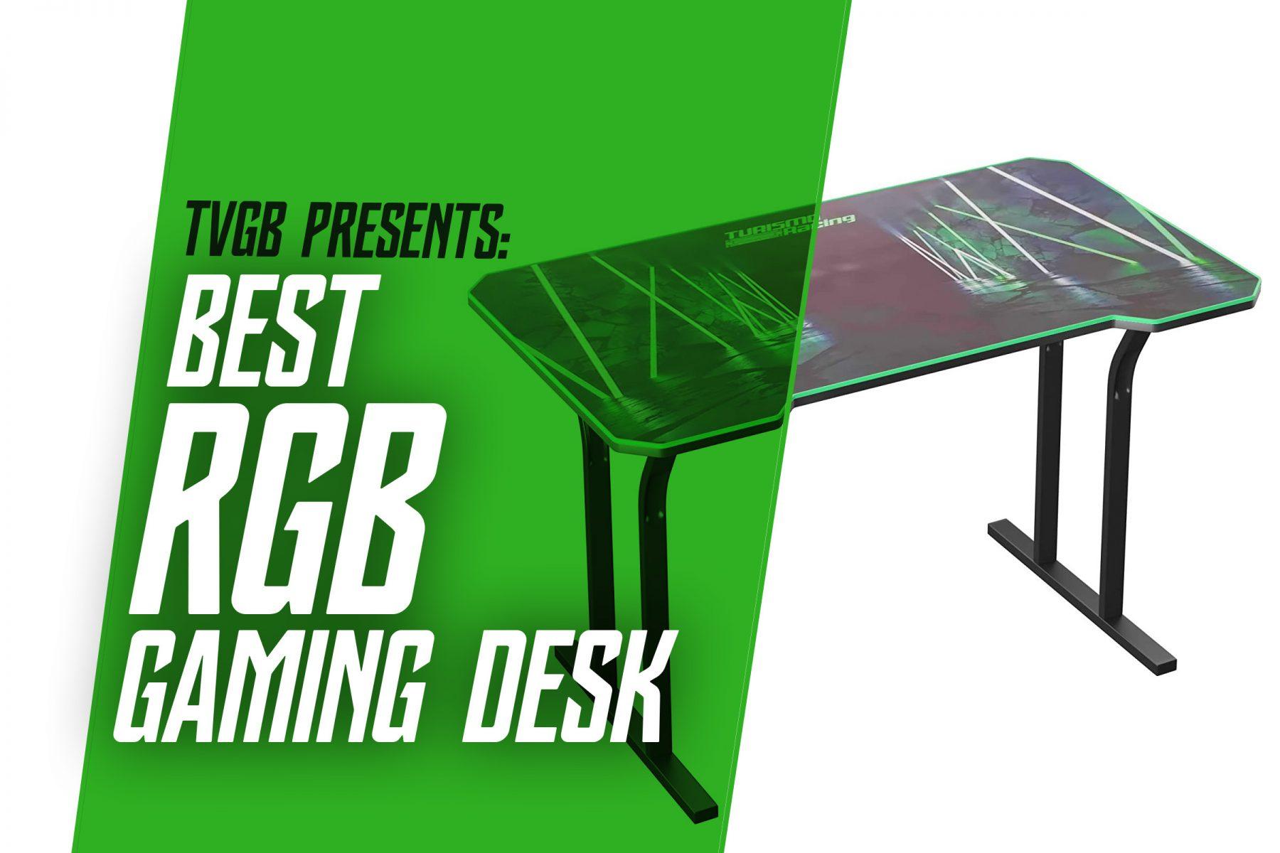 TVGB - rgb gaming desk, header image