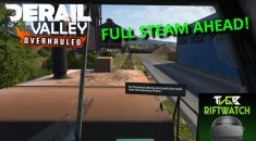TVGB Riftwatch rides the rails with Derail Valley