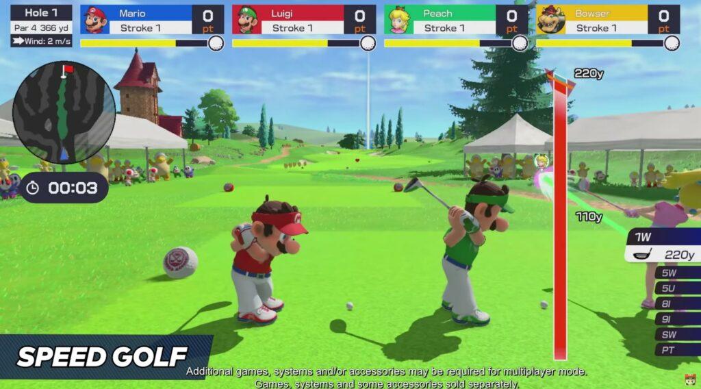 Speed Golf